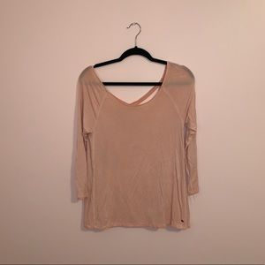 Pink American Eagle Soft & Sexy Long Sleeve